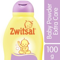 Zwitsal Baby Powder Extra Care Zinc 100gr