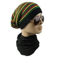 topi kupluk hip hop reggae rasta/kupluk bob marley jamaican import