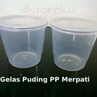 cup gelas puding pudding merpati pp merpati FIM