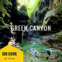 OPEN TRIP BODY RAFTING GREEN CANYON / PANGANDARAN