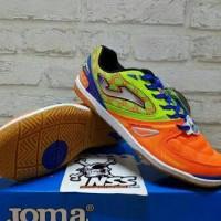 Sepatu Futsal Joma Salamax orange-green smaxw.608.in