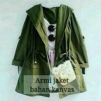 Jual Jaket Parka Wanita Army Murah