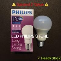 Jual Lampu Bohlam LED Philips 13 Watt Putih/Cool Day Light (13W 13 W 13Watt Murah