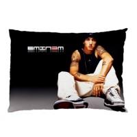 Sarung Bantal custom Eminem 45x65 cm gambar 2 sisi