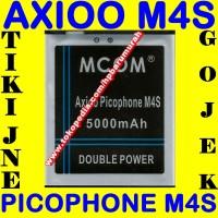 Baterai Axioo Picophone M4S MCOM M COM Batrai Batre Battery Batere