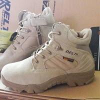 Sepatu Delta Pendek - Tan ( Grade )