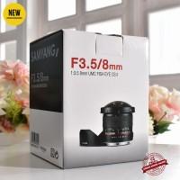 [New] Samyang f3.5/8mm UMC Fish Eye CS II for Nikon @GK Malang