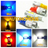 Jual Lampu led senja / sein 10 ttk mini projector untuk Motor Murah