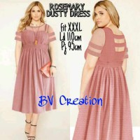 DRESS PENDEK XXL / SHORT DRESS / DRESS BIG SIZE XXL / DRESS HITAM XXL