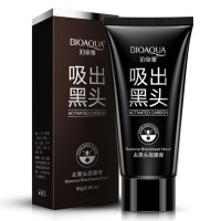 Jual Bioaqua Black Active Carbon Mask 60gr Murah