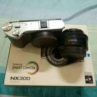 Samsung NX300 Lensa 16-50 PowerZoom