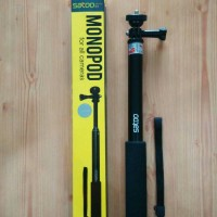 Tongsis Monopod Round Mount for Action Camera Gopro and Yi Cam