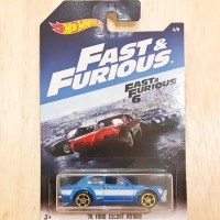 Hot Wheels Fast Furious 70 Ford Escort RS1600 Fast & Furious 6