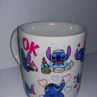 Jual mug stitch gelas stitch unik Murah