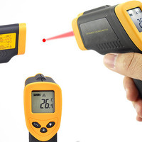 Jual Thermogun Thermometer Infrared pengukur suhu murah panas termometer Murah