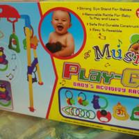 Jual MAINAN GANTUNG PLAYGYM PLAY GYM MUSICAL RATTLE BABY ACTIVITY MURAH Murah