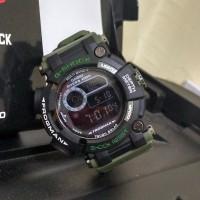 Jam Tangan Pria / G-Shock Frogman Green Black