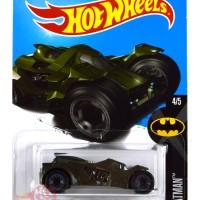 Batman : Arkham Knight Batmobile HIJAU / GREEN HW Hot Wheels Hotwheels