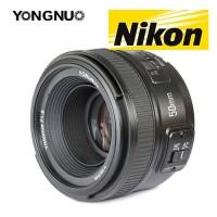 Lensa YongNuo 50mm f1.8 Nikon
