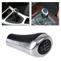 Manual Shift Knob BMW Garnish SILVER POLISH Untuk E36 E30 E39 E34