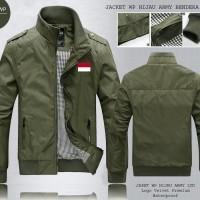 Jual JAKET PARASUT ARMY BENDERA INDONESIA Murah