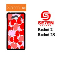 Casing HP Xiaomi Redmi 2, 2S Love Custom Hardcase Cover