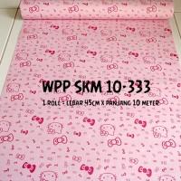 wallpaper sticker 10333 wall paper stiker motif hello kitty HK pink