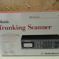 500 Channel Mobile Trunking Scanner - Radio Shack Pro-2067 - New