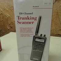 150 Channel Trunking Handheld Scanner - Radio Shack Pro-91 - New