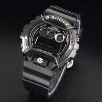 g shock dw 6900 glosy black hitam gshock dw6900 jam tangan
