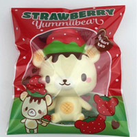 Jual squishy strawberry yummiibear creamii candy Murah
