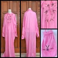Jual ATB - Mukena Abaya Ponco traveling Pink 1  Murah