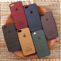 Wooden case hp/casing hp Iphone 5/5s, 6/6S, 6Plus/6sPlus, 7, 7Plus