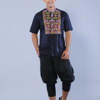 baju koko pria modern gaul terbaru bordir mewah by preview itang yunaz