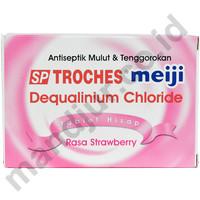 Tablet Hisap SP Troches Meiji (rasa strawberry)