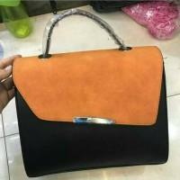 Tas Zara Black - Orange TC