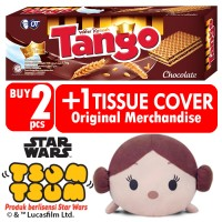 harga Tango Wafer Coklat 176 Gr [2 Pcs] + Star Wars Tsum Tsum Princess Leia Tokopedia.com