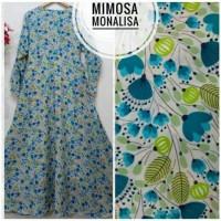 Gamis mimosa monalisa biru