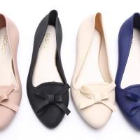 Jual Flat Jelly Shoes | Sepatu Sendal Pita Wanita - Santai | Woman Shoes Murah