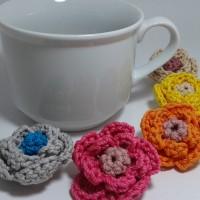 Jual Bros rajut bunga / crochet / souvenir rajut Murah