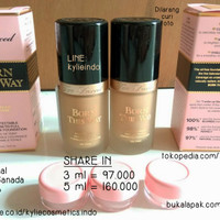 Jual SHARE IN JAR 3ml - TOO FACED BORN THIS WAY FOUNDATION ORIGINAL 100% Murah