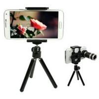 Jual JUAL Camera Lensa Telezoom 8x Universal + Tripod+ Holder ALL type Hand Murah