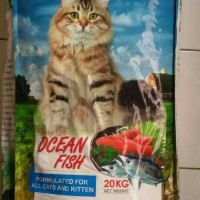 Jual Makanan Kucing Premium SABINA Repack 1 KG Murah