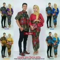 Baju batik couple modern gamis muslim couple modern