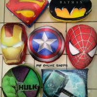 Bantal Logo Superhero