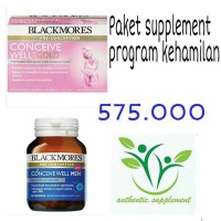 PAKET-Blackmores conceive well gold & Blackmores conceive well men
