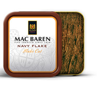 Tembakau Pipa Mac Baren Navy Flake (Tin 50 gr) Pipe Tobacco Cangklong