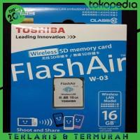 harga Termurah! Toshiba Flash Air Wireless Sd Card Class 10 16gb Tokopedia.com