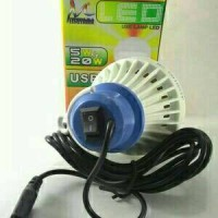 Jual Lampu Bohlam LED USB 5 Watt Mitsuyama Kabel 2 Meter On Off Murah