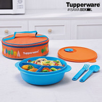 Tupperware Fancy Crystalwave Lunch Set